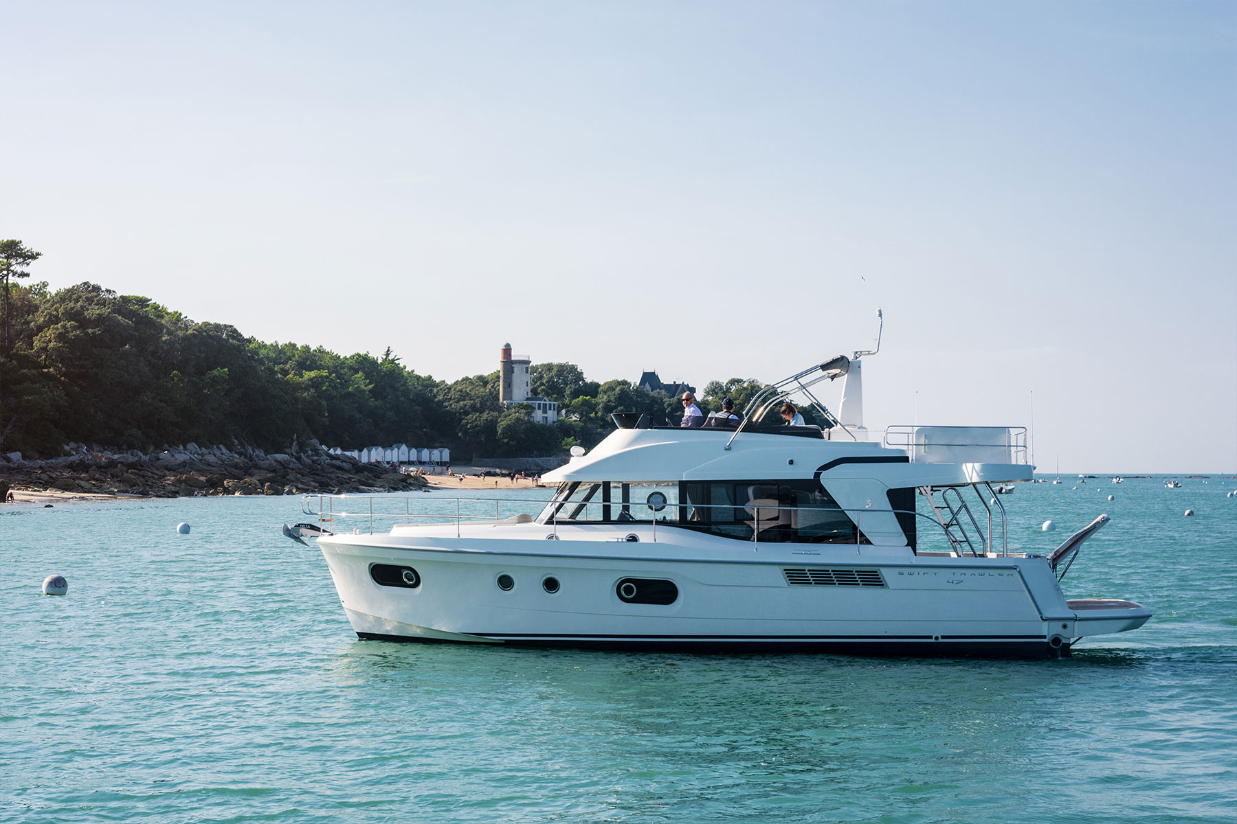 Beneteau Swift Trawler 47 — Large Flybridge