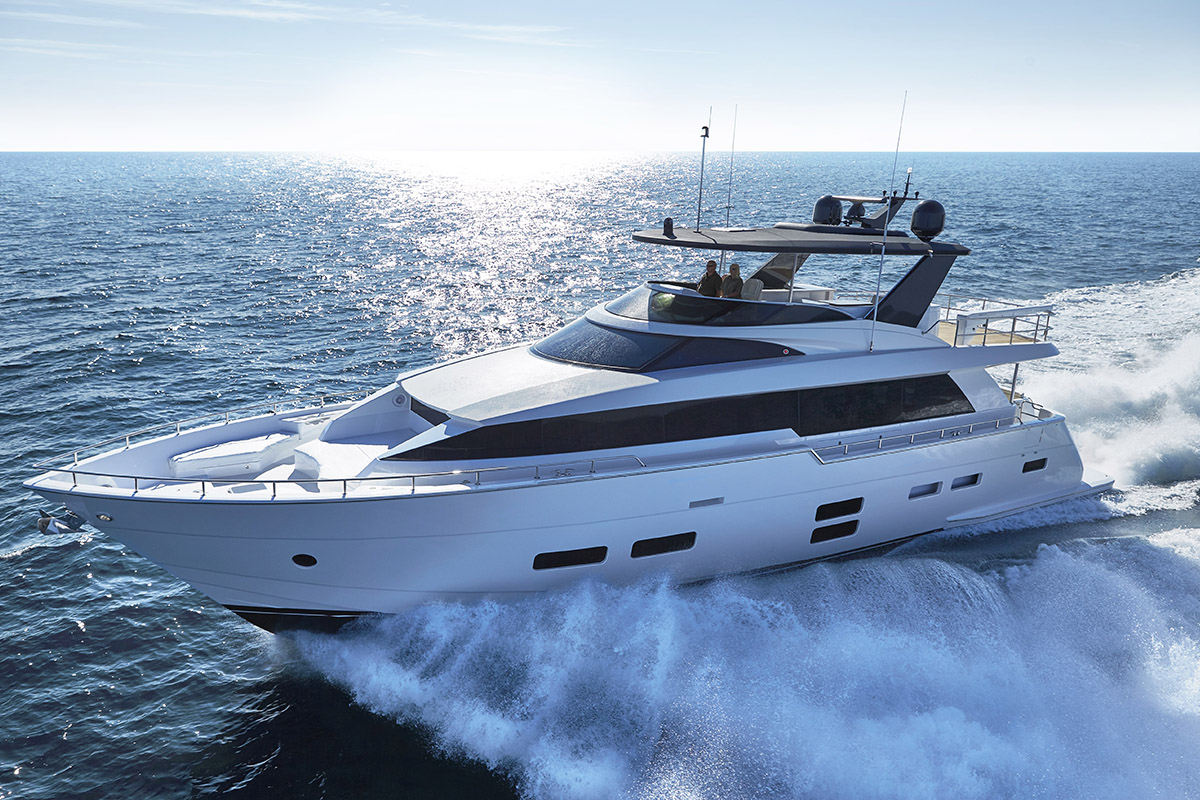 Hatteras M75 — Timeless Performance