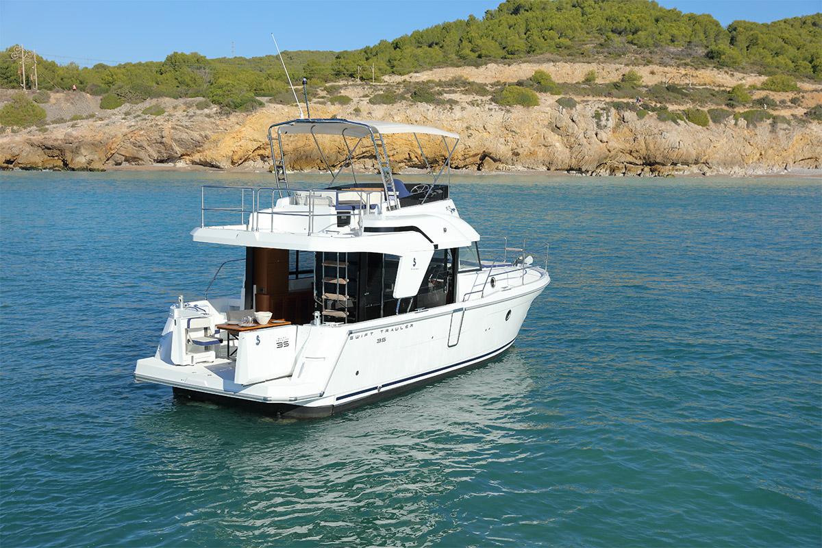 Beneteau Swift Trawler 35 — Masterfully Designed