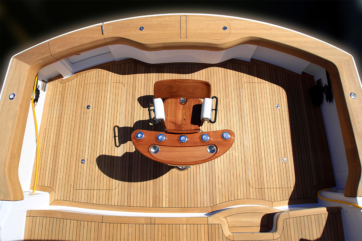 Hatteras GT70 — Fighting Chair