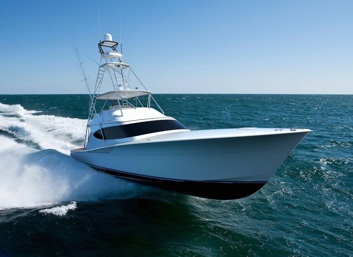 Hatteras GT63 Island Galley