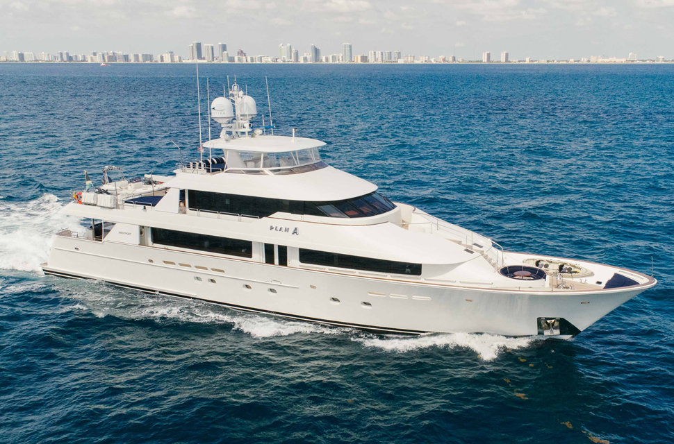 Luxury Yacht For Charter: 130' Westport Classic | PLAN A - photo 1