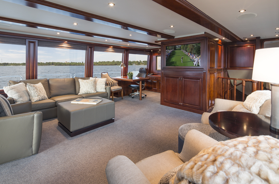 Luxury Yacht For Charter: 130' Westport Classic | PLAN A - photo 5