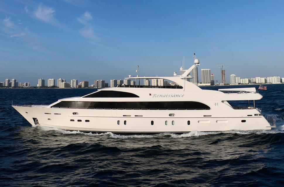 Luxury Yacht Rental: 116' Hargrave 2016 | RENAISSANCE - photo 1