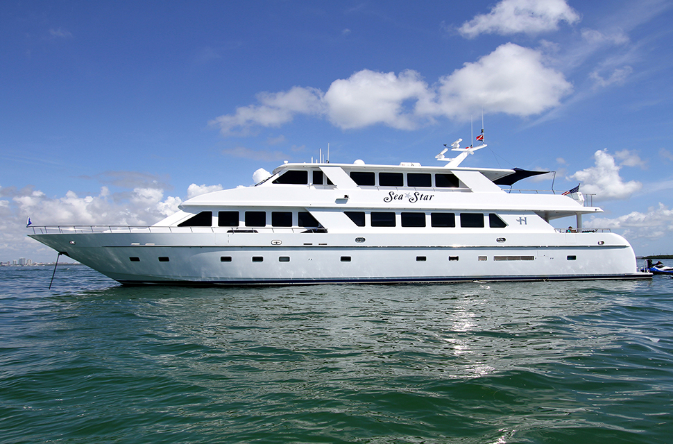 Luxury Yacht Rental: 109' Hargrave 2001 | SEA STAR  - photo 1