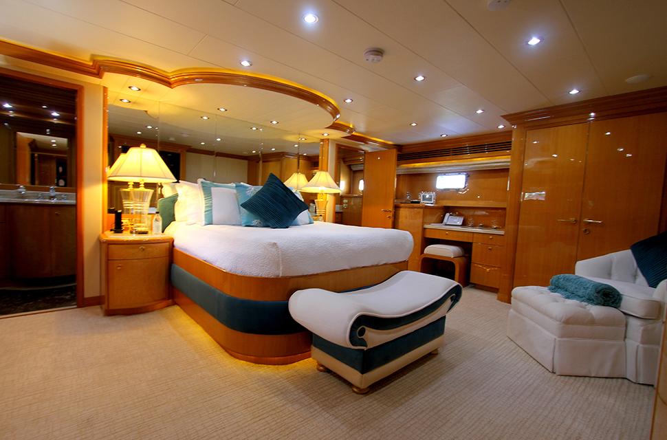 Luxury Yacht Rental: 109' Hargrave 2001 | SEA STAR  - photo 4