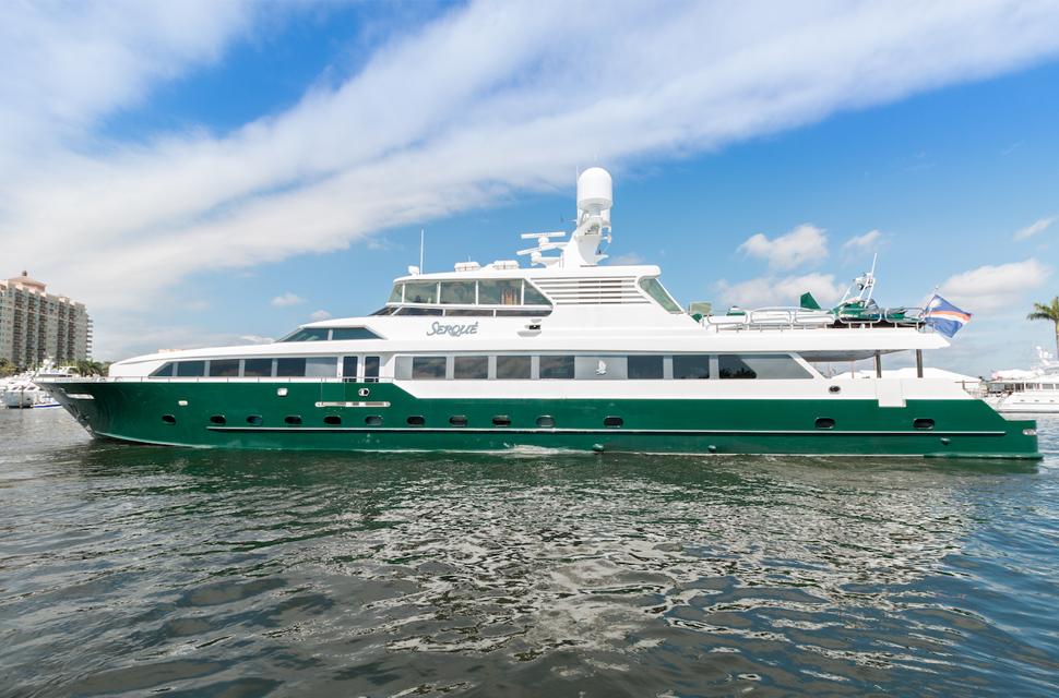 Luxury Yacht For Charter: 133' Custom Superyacht | SERQUE  - photo 1