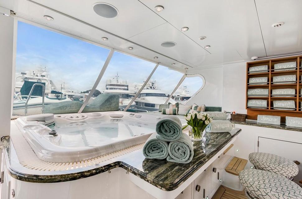Luxury Yacht For Charter: 133' Custom Superyacht | SERQUE  - photo 5