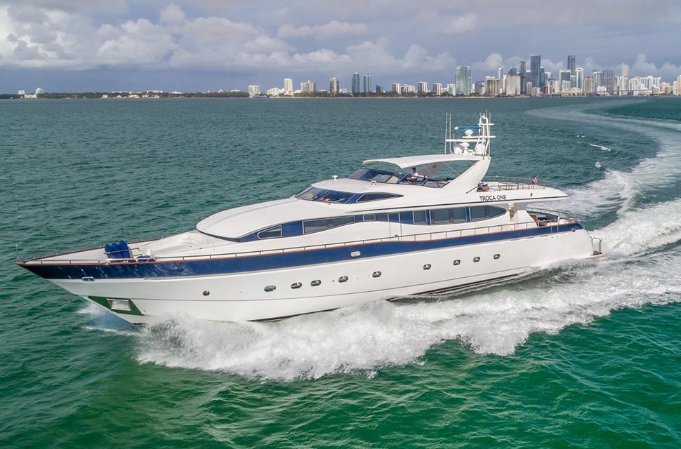 Luxury Yacht Rental: 108' (32m) Viking | TROCA ONE - photo 1