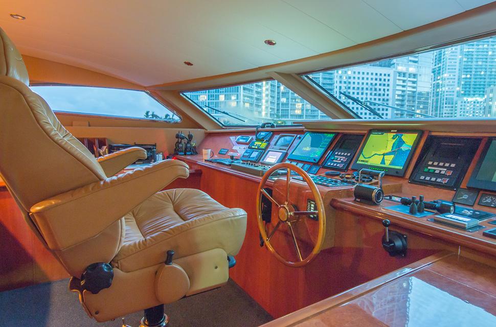 Luxury Yacht Rental: 108' (32m) Viking | TROCA ONE - photo 3