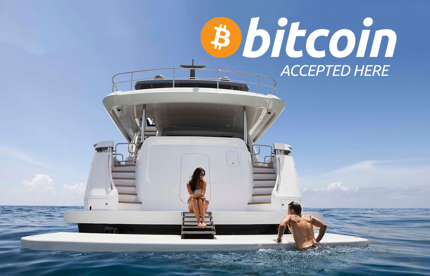 Purchase + Charter Yacht W Cryptocurrency