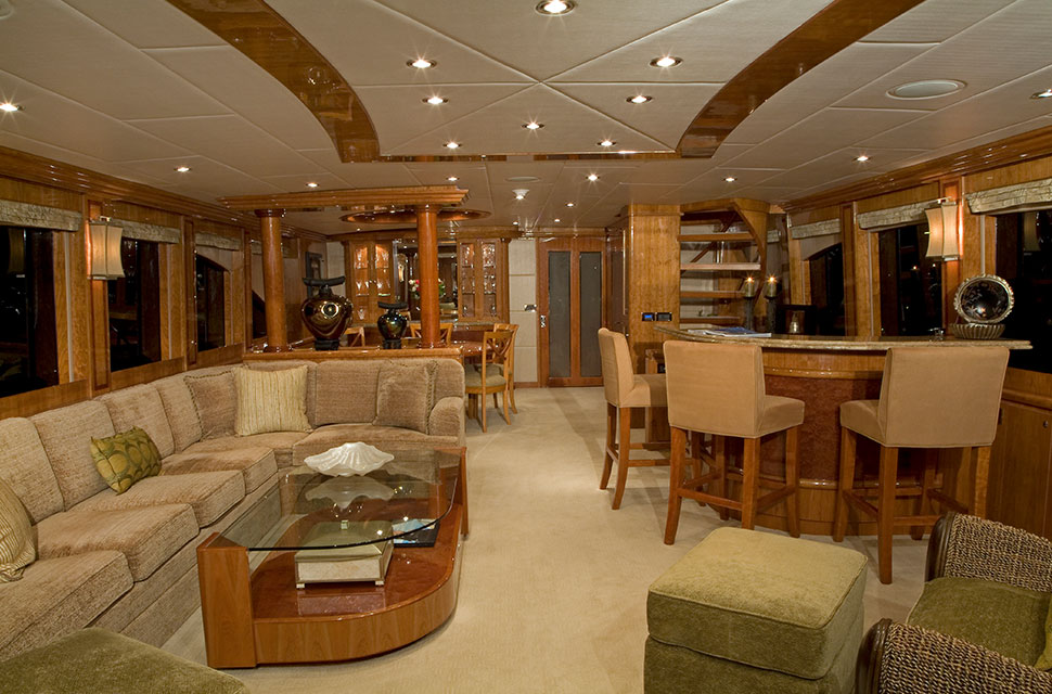 Luxury Yacht Rental: 98' Hargave 2007 | TIGERS EYE - photo 2