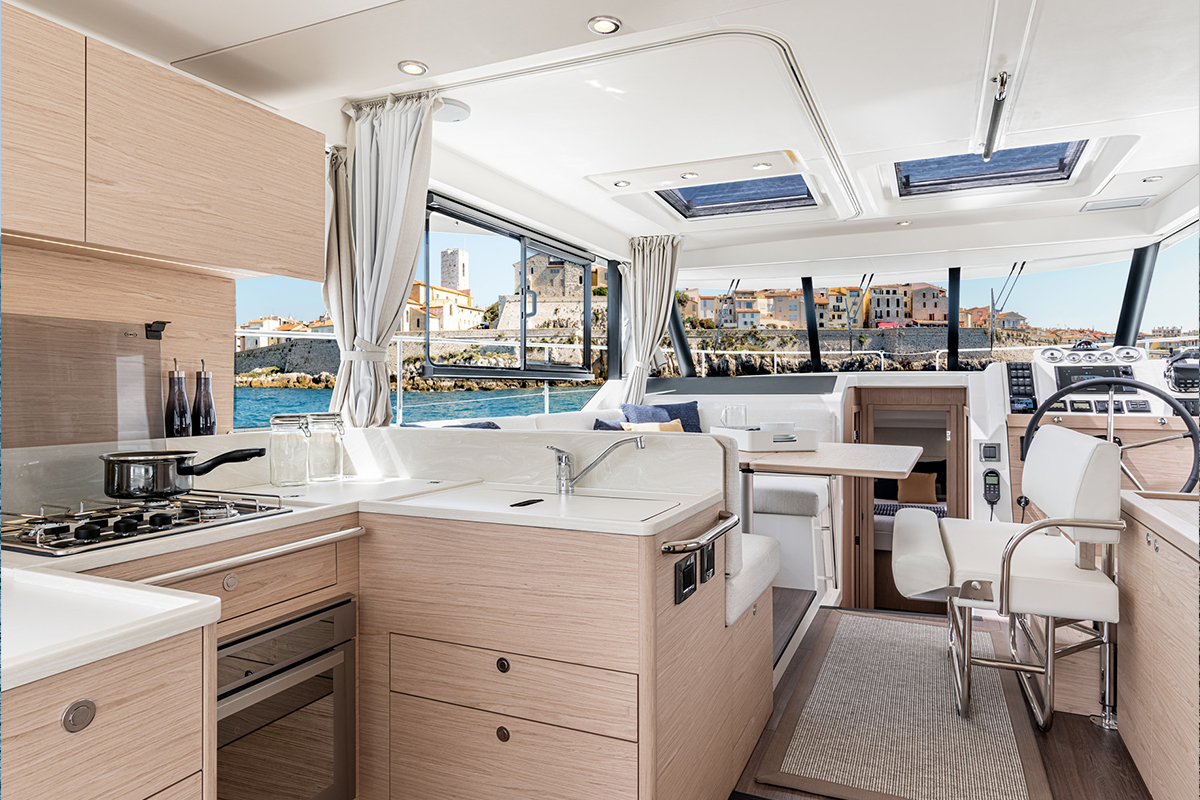 Beneteau Swift Trawler 41 — Galley