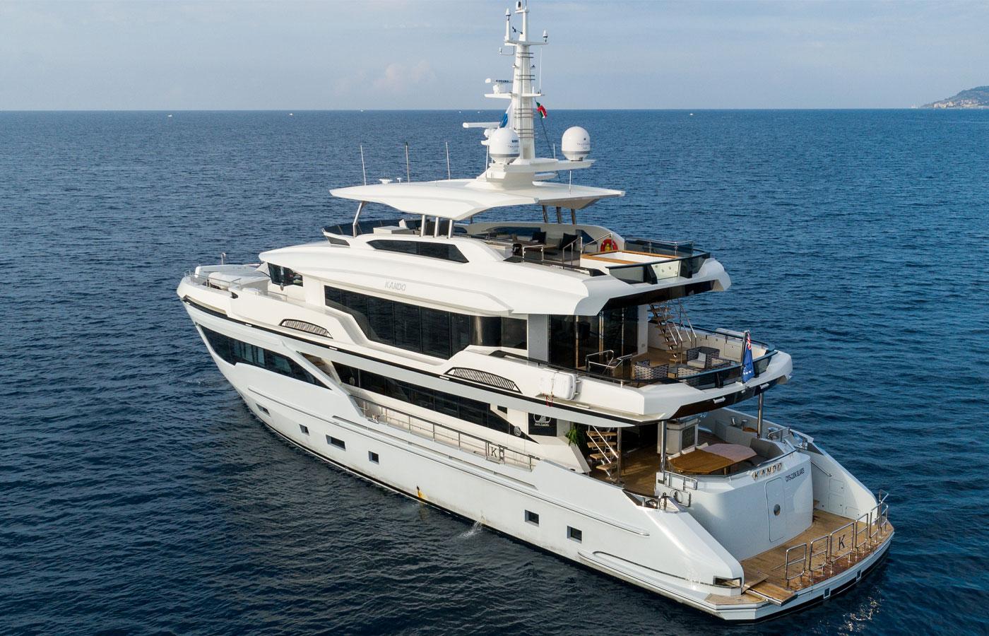 Kando 110 Explorer Debuts at Cannes [Yacht Highlight]