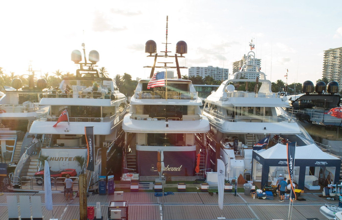 Top 5 Biggest Denison Superyachts At FLIBS 2019