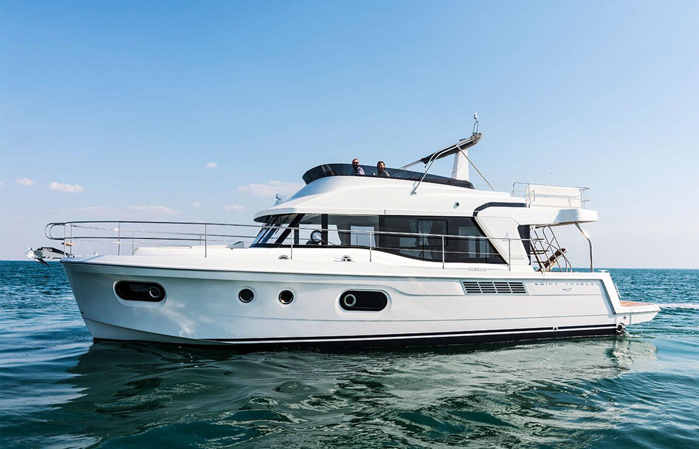 Beneteau Swift Trawler 47 Review [Swift Pacific Adventure]