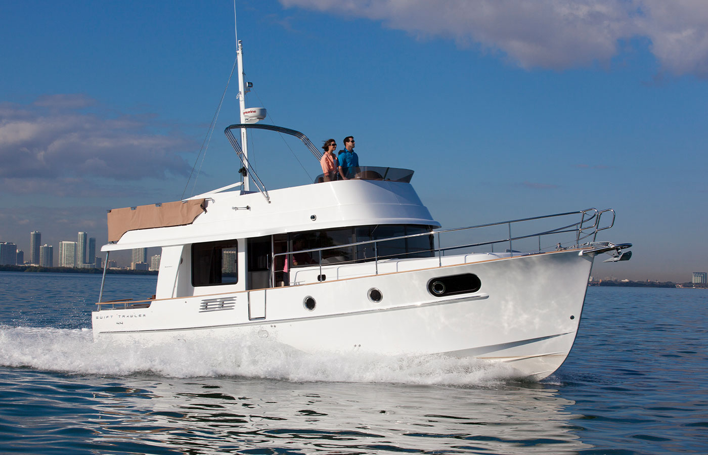 New 2020 Beneteau Swift Trawler 44 Sold by Brian Nobles