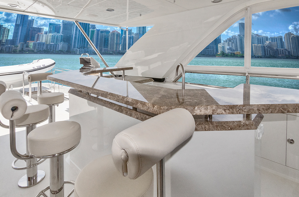 Luxury Yacht Charter: 85' Ocean Alexander 2018   OCEAN ROSE - photo 3