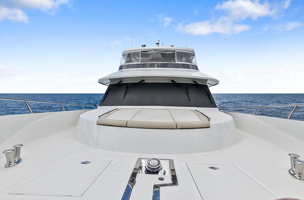 Luxury Yacht Charter: 85' Ocean Alexander 2018   OCEAN ROSE - photo 4