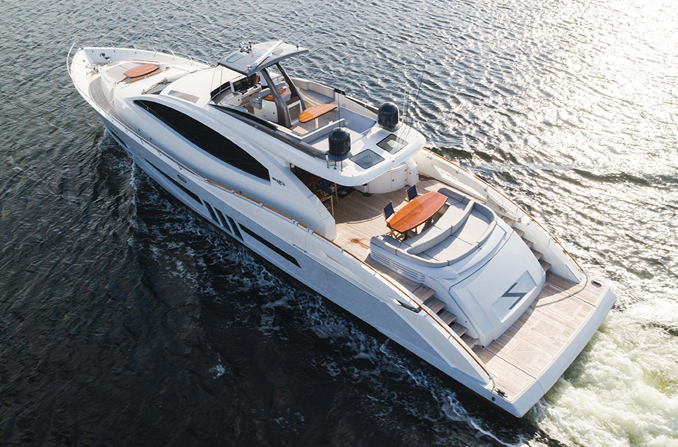 Luxury Yacht Charter: 92' Lazzara 2012 | HELIOS - photo 1