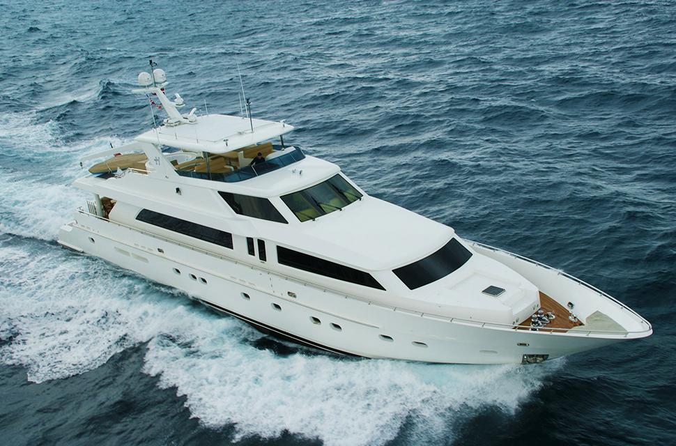 Luxury Yacht Charter: 114' Hargrave 2009 | BRANDI WINE - photo 1