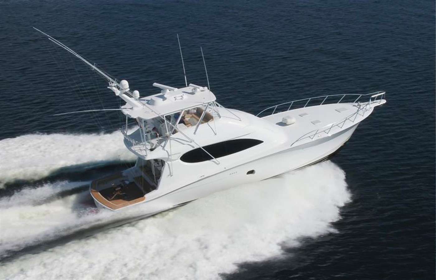 64 Hatteras AQUAHOLIC TOO Sold By Russ Schafer